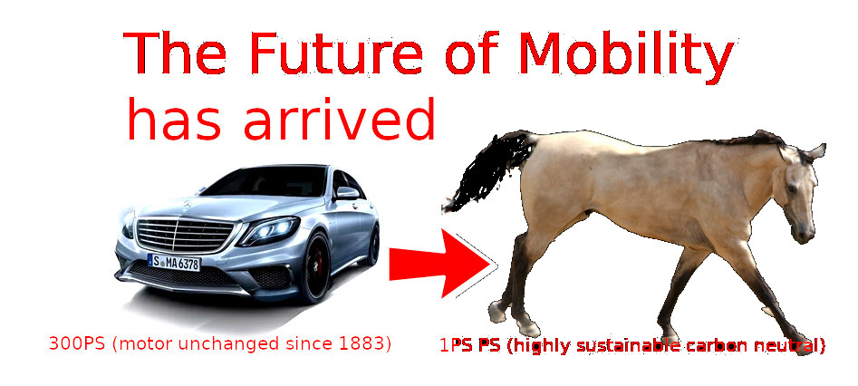 the future of mobility has arrived - - carbon neutral - sustainable - corruption free